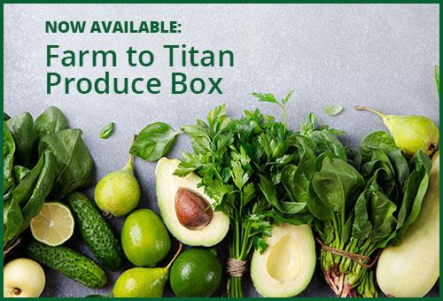 Fullerton Arboretum Farm to Titan Produce Box