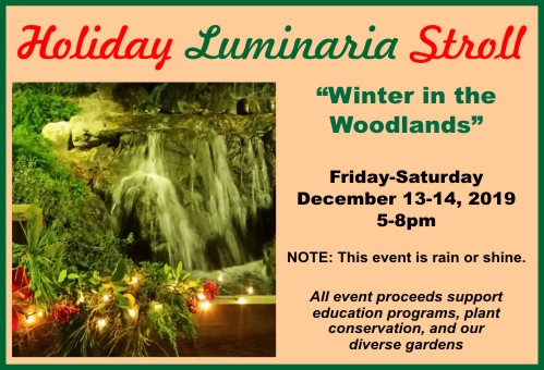 Holiday Luminaria Stroll