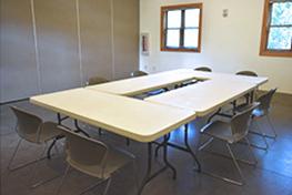 Bacon pavilion classroom