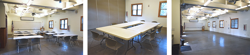 Bacon pavilion meeting rooms