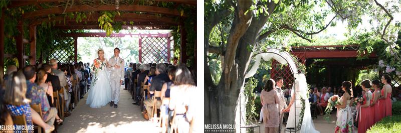 Wisteria arbor wedding melissa mcclure