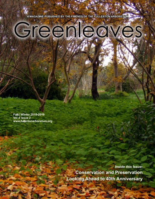 Greenleaves Fall/Winter 2018-19