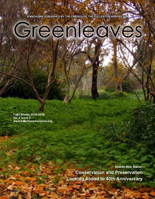 Greenleaves Fall/Winter 2018-19