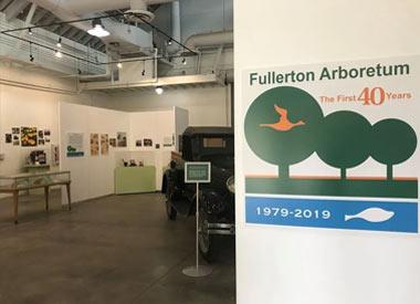 CSUF Arboretum Exhibit