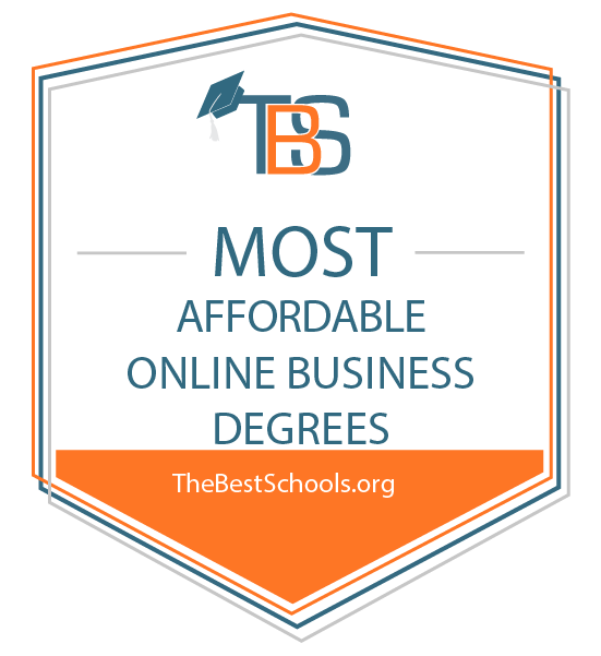 TheBestSchools.org Best Online Programs award for BABA