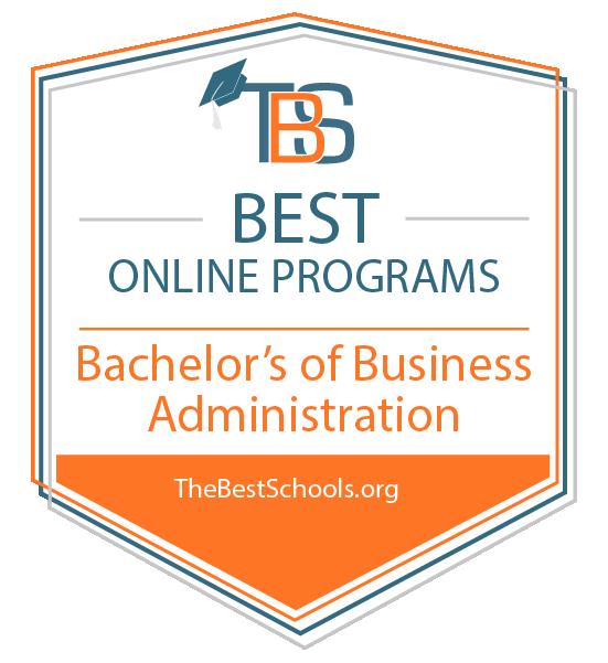 TheBestSchools.org Best Online Programs award for BABA