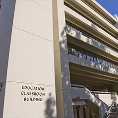 education classroom building exterior
