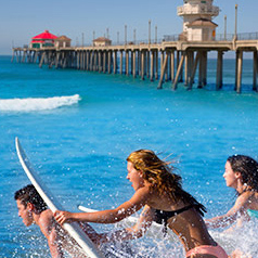 SoCal beaches and surfing