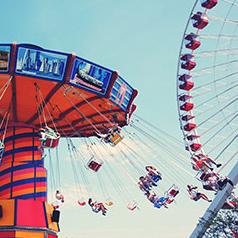 tilt-a-whirl ride
