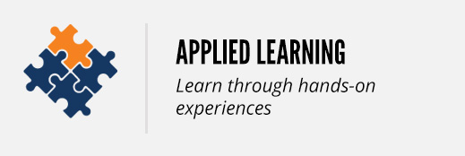 applied learning: learn through doing