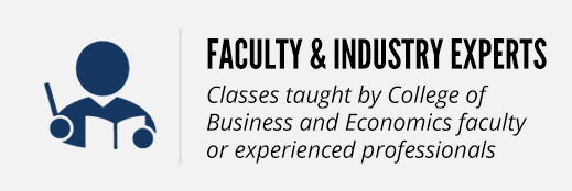 Instructors: Classes taught by experienced industry leaders