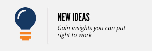 new ideas insights you can put right to work